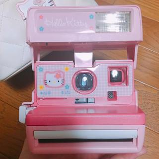 ハローキティ(ハローキティ)のレア☆ハローキティポラロイドカメラ(フィルムカメラ)