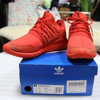 アディダス(adidas)のアディダスオリジナルス ★チュブラー ラディアル 赤 27㎝(スニーカー)