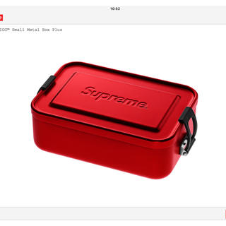 シュプリーム(Supreme)のSupreme/SIG 18SS ランチボックス small(食器)