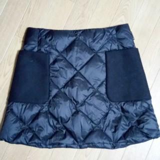 モンクレール(MONCLER)のモンクレール Moncler ダウンキルティングスカート 美品(ミニスカート)