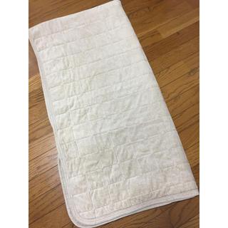 ムジルシリョウヒン(MUJI (無印良品))の無印良品 暖かい ベッドパッド ベージュ シングル(シーツ/カバー)