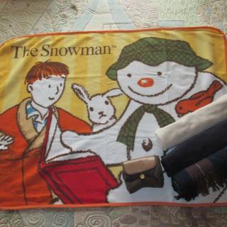 サンリオ(サンリオ)の5枚セット ブランケット The Snowman&CHANGEDAVIO(キャラクターグッズ)