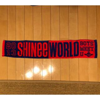シャイニー(SHINee)のSHINee ツアータオル グッズ 2013 BOY MEETS U ブルー(K-POP/アジア)