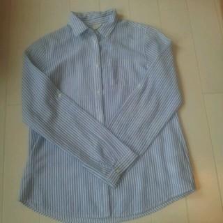ザラキッズ(ZARA KIDS)のお値下げ☆ZARA ストライプシャツ(シャツ/ブラウス(長袖/七分))