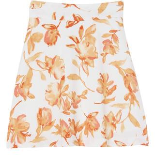 マーキュリーデュオ(MERCURYDUO)のMERCURYDUO カラー水彩フレアミニスカート(ミニスカート)