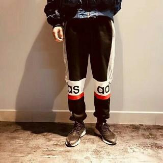 アディダス(adidas)のアディダス 無地 長パンツ M/L/XL サイズ 黒色(チノパン)