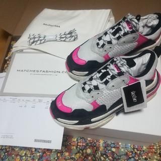 バレンシアガ(Balenciaga)の【専用】triple s 38 pink wmns(スニーカー)