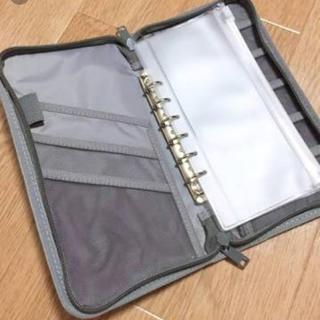 ムジルシリョウヒン(MUJI (無印良品))の無印 パスポートケース グレー(日用品/生活雑貨)