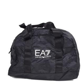 エンポリオアルマーニ(Emporio Armani)のEA7 エンポリオ アルマーニ ブラックナイロンバッグ 軽量(ボストンバッグ)