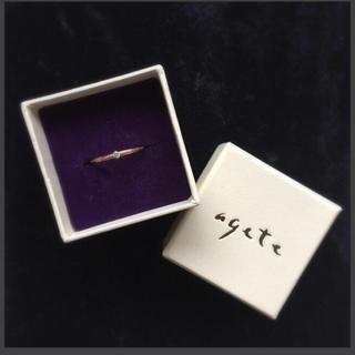 アガット(agete)のagate diamond ring(リング(指輪))