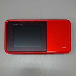 エーユー(au)の【中古】Speed Wi-Fi NEXT W03 au オレンジ(PC周辺機器)