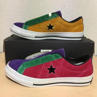 コンバース(CONVERSE)の日本製 ONE STAR MULTI-C OX(スニーカー)