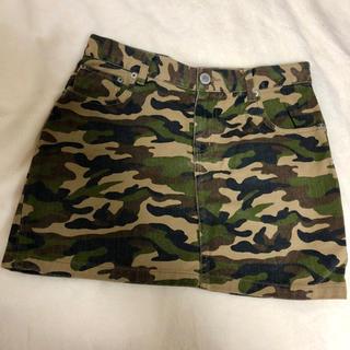 ローリーズファーム(LOWRYS FARM)の迷彩 スカート(ミニスカート)