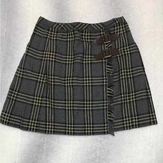 アンクワイエット(ANQUIET)のANQUIET♡チェック柄スカート(ひざ丈スカート)