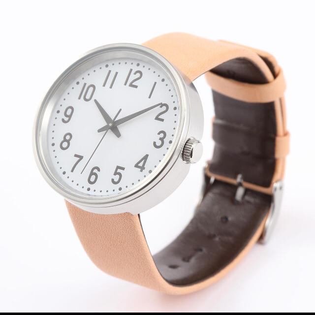 無印良品 | 腕時計・Solar Watch・白バンド:白革 型番:MJ‐SWW1 通販