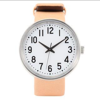 無印良品で買い物中に見つけてしまった この時計。