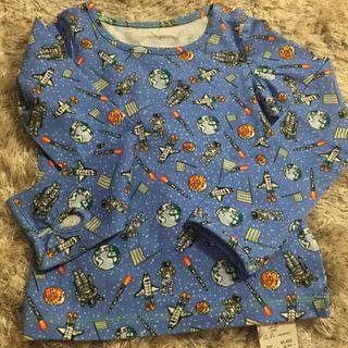 フェフェ(fafa)のfafaスペース柄100サイズ長袖新品❤︎(Tシャツ/カットソー)