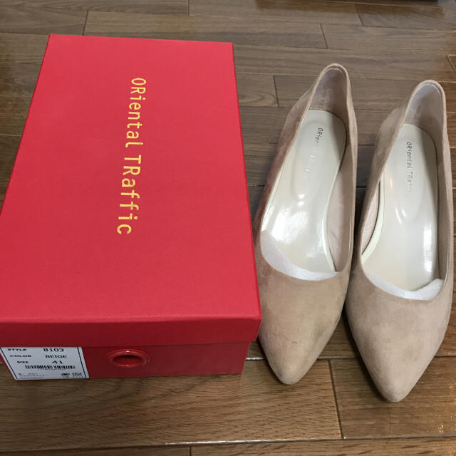 ORiental TRaffic(オリエンタルトラフィック)のオリエンタルトラフィック ポインテッドトゥパンプス 41 レディースの靴/シューズ(ハイヒール/パンプス)の商品写真