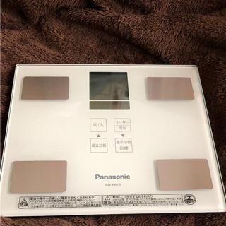 パナソニック(Panasonic)のパナソニック体組成バランス計 ホワイト(体重計/体脂肪計)