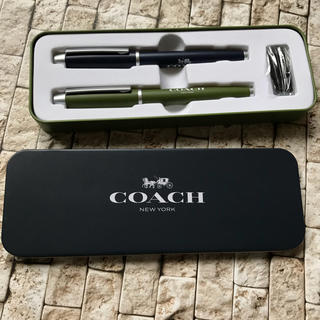 コーチ(COACH)のコーチ  万年筆とボールペン(ノベルティグッズ)