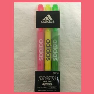 アディダス(adidas)の【新品】【限定】adidas 蛍光ペン(ペン/マーカー)