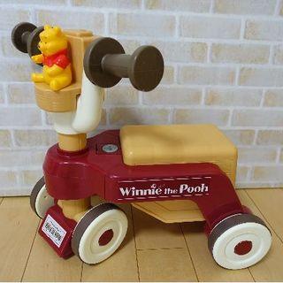 ディズニー(Disney)のくまのプーさん おしゃべりウォーカーライダー(手押し車/カタカタ)