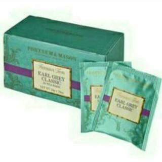 新品 フォートナム&メイソン F&M ロンドンアールグレイクラシック 25バッグ(茶)