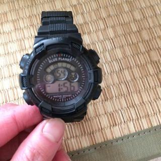 プラネットブルー(Planet Blue)のblue planet 腕時計(腕時計(デジタル))