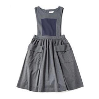 ジェーンマープル(JaneMarple)のVintage poplin bicolor dress(ロングワンピース/マキシワンピース)
