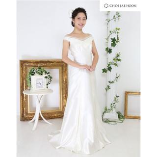 【新品、サイズ調整可】 choi jae hoon ウエディングドレス 7-9号(ウェディングドレス)
