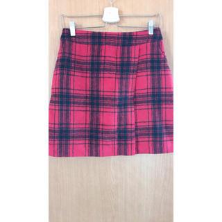 ローリーズファーム(LOWRYS FARM)の♡ローリーズファーム チェック台形スカート♡(ミニスカート)
