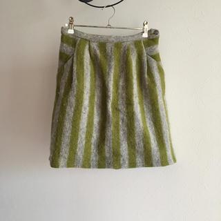 フィグロンドン(fig London)のfig london フィグロンドン  Mapelストライプスカート(ひざ丈スカート)