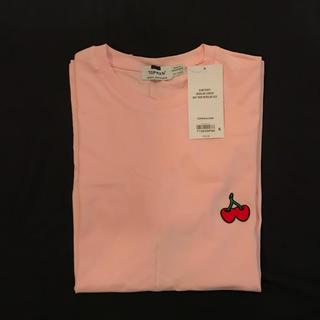 TOPMAN ピンクチェリーTシャツ sサイズ