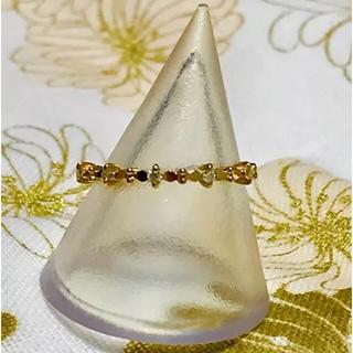 アガット(agete)のagete ♡ 廃盤K18ピンクゴールドダイヤモンドリング(リング(指輪))
