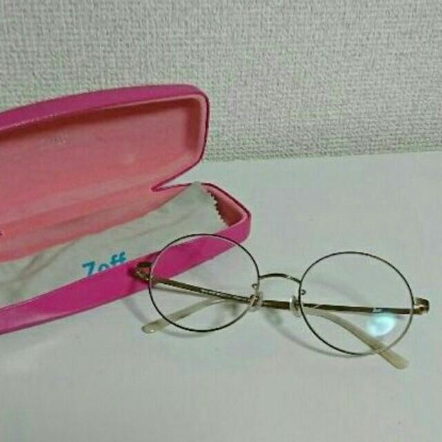 Zoff(ゾフ)のZoff◯丸メガネ レディースのファッション小物(サングラス/メガネ)の商品写真