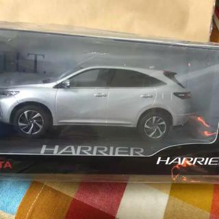 トヨタ(トヨタ)のレア★トヨタ ハリアー Harrier カラーサンプル ミニカー 非売品(ノベルティグッズ)