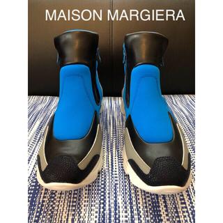マルタンマルジェラ(Maison Martin Margiela)のマルジェラ 新品 レザー スニーカー ハイカット 28cm(スニーカー)