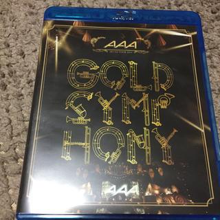 トリプルエー(AAA)のAAA GOLD SYMPHONY ブルーレイ(ポップス/ロック(邦楽))