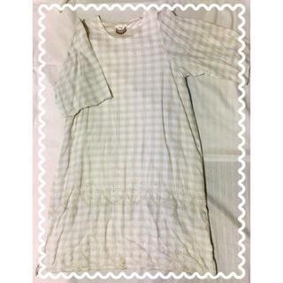 クリスプ(Crisp)のCrisp#裾刺繍ワンピース(ロングワンピース/マキシワンピース)