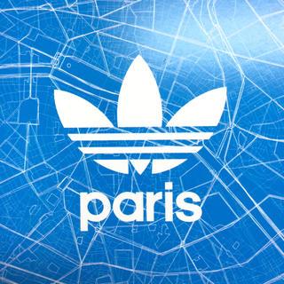 アディダス(adidas)の非売品 アディダス ポストカード adidas Originals Paris(ノベルティグッズ)
