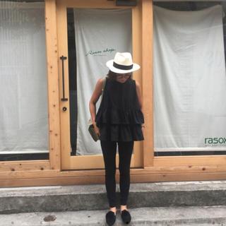 ザラ(ZARA)の大人気完売!新品♡ birthday bash トリプルフリルNS ブラック(シャツ/ブラウス(半袖/袖なし))
