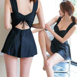 ワンピース 水着 体型カバー フレア スカート(水着)