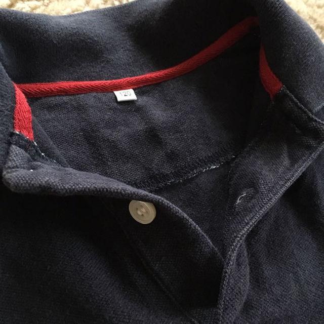 MUJI (無印良品)(ムジルシリョウヒン)の無印良品 ネイビーポロシャツ