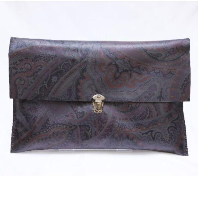 川栄李奈 オリジナルハンドメイドクラッチバッグ ハンドメイドのファッション小物(バッグ)の商品写真
