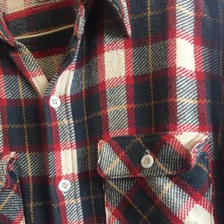 ダブルワークス(DUBBLE WORKS)のスプリンガーさま専用 ダブルワークス ネルシャツ (シャツ)