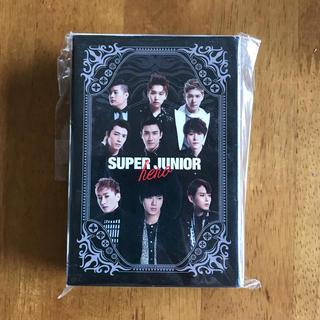 スーパージュニア(SUPER JUNIOR)のスーパージュニア 「HERO」 ミュージックカード トランプ(ミュージシャン)