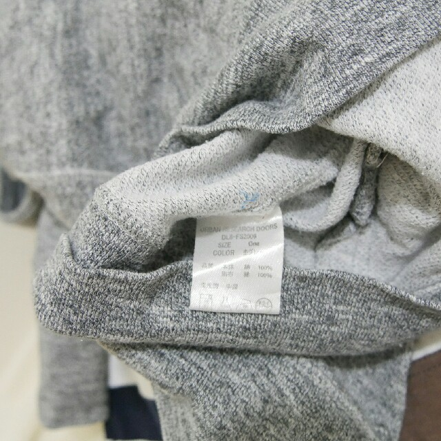 DOORS / URBAN RESEARCH(ドアーズ)のフォーク&スプーン ジップパーカー 杢グレー アーバンリサーチ レディースのトップス(パーカー)の商品写真