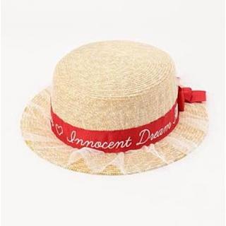 リズリサ(LIZ LISA)のリズリサチュールカンカン帽 新品未使用(ハット)