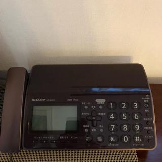 シャープ(SHARP)のシャープ製 電話機(電話台/ファックス台)