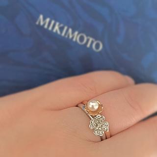 ミキモト(MIKIMOTO)のペルリータミキモト 重ね付けリング(リング(指輪))